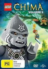 Lego Legends of Chima: Vol 3 DVD NEW