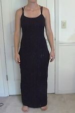 """Steppin Out """"PLUM form fitting FORMAL/PROM/EVENING/WEDDING DRESS"""" Size 11/12"""