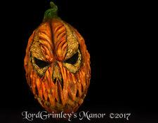 New 2017 Wraith Pumpkin Halloween Mask Horror Evil Monster Jack o Lantern Corn