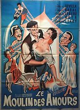 Affiche LE MOULIN DES AMOURS Leon Klimovsky CARMEN SEVILLA R120x160cm *