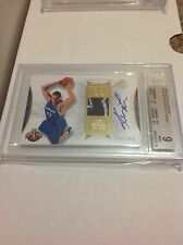 Kevin Love 2008 SP authentic auto rookie RC #126 #/299 BGS 9