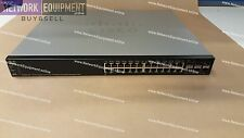 Cisco SG500X-24P-K9 SFP+ PoE+ Gigabit 10 GE switch