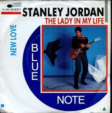 7inch STANLEY JORDAN the lady in my life BLUE NOTE EX+  +PS  HOLLAND 1985
