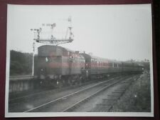 PHOTO  8.5 X 6.5 IN LNER THOMPSON CLASS L1 2-6-4T NO 67742 at richmond