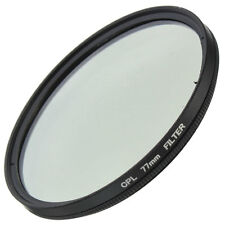 Slim 77mm CPL Circular Polarizing Filter PL-CIR For Canon Nikon Fuji 77mm Lens