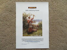 40% Off Golden Kite Counted X-stitch chart - #2693 Gathering Roses (Small)