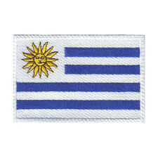 URUGUAY FLAG EMBROIDERED SEW ON PATCH