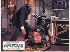 JAMES BOND 007 DAVID NIVEN CASINO ROYAL 1967 VINTAGE LOBBY CARD #1