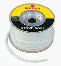Hotspot 9mm x 25m Quality Glass Fibre Stove Rope For Sealing Stoves and Fires