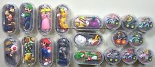Nintendo Mario Kart 3DS 19 toy set Pull Back Car 8 & figure 11 official game