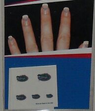 NCAA FLORIDA GATORS TEMPORARY FINGERNAIL 20 TATTOOS 4 SHEETS FAST FREE SHIPPING
