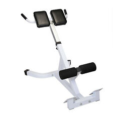 Extension Hyperextension Back Exercise AB Bench Gym Abdominal Roman Chair