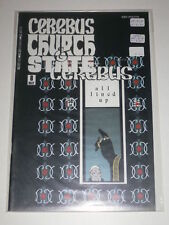 Cerebus Church & State #8 VF Aardvarkvanaheim May 1991