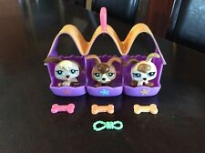 LPS Littlest Pet Shop Pet Triplets Baby Puppy Dog # 1338 1339 1340 + Accessories
