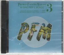 P.F.M. IN GIRO PER IL MONDO 1975 1976 OFFICIAL BOOTLEG SERIES 3 PFM CD SIGILLATO