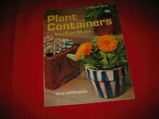 Plant Containers You Can Make Bench hanging containers plant stands plant holder
