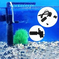 200l/h 2W Aquarium Pond Internal Filter for Fish Tank Submersible NEW JL