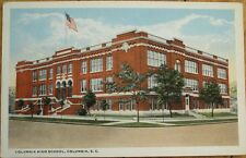 Columbia, SC 1920 Postcard: High School- South Carolina