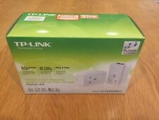 TP-LINK 500 Mbps 2-Port passthrough POWERLINE ADAPTER STARTER KIT confezione da 2