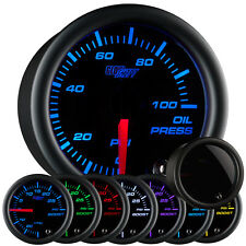 52mm GlowShift Tinted 7 Color Oil Pressure Gauge - GS-T704