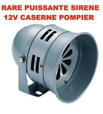 INTROUVABLE! SIRENE CASERNE DE POMPIER 12V 65W 140db! PUISSANTE UNIQUE EN FRANCE