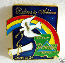 Lapel Tac Pin Bellsouth Pioneers Chapter 24 Louisiana Enameled Gold Tone 1997-98