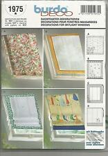 Burda DECO Pattern 1975 w uncut Pattern in German/English/Espanol/French/Italian