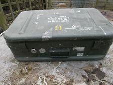 BRITISH ARMY TRANSPORT FLIGHT STORAGE CASE TOOL BOX MILAN - MIRA CASE LAND ROVER