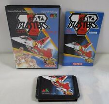 Mega-Drive Genesis -- Aero Blasters -- Box. JAPAN Game Sega. Work fully!! 11508