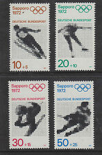 WEST GERMANY MNH STAMP DEUTSCHE BUNDESPOST 1971OLYMPIC GAMES  SG 1589-1592