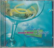 Stirred at the Martini Lounge Music CD, JAZZ by Gordon Sheard, New and Sealed