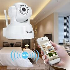 Wireless IP Webcam Camera Night Vision 11 LED WIFI Video Recorder EU Plug KN