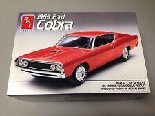 69 FORD TORINO COBRA 428CJ V8 STOCK CUSTOM DRAG 1969 S/I Plastic model kit USA!