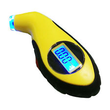 New LCD Digital Auto Car Motorcycle Air Pressure Tire Tyre Gauge Tester Tool