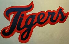 """HUGE DETROIT TIGERS IRON-ON PATCH - 6"""" x 10.5"""""""