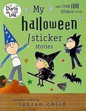 My Halloween Sticker Stories (Charlie and Lola)-ExLibrary