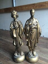 "16"" Asian Statues Figurines"