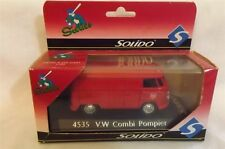Solido Sixties 4535 V W Combi Pompier Bus 1/43 Scale Made In France New in Box