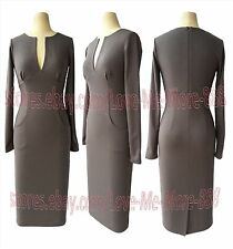 Vintage Womens Celebrity PARTY Wear to Work  Shift MIDI PENCIL Dress BODYCON