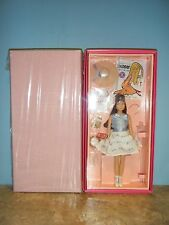 50TH ANNIVERSARY REPRODUCTION BRUNETTE SKIPPER DOLL GIFT SET *NEW* IN TISSUE