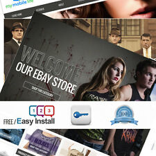 Full Professional eBay Shop Store & Listing Template Design + RESPONSIVE DESIGN