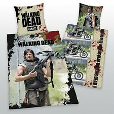 2X THE WALKING DEAD BETTWÄSCHE DARYL DIXON EXKLUSIVMODELL 135x200 CM NEU