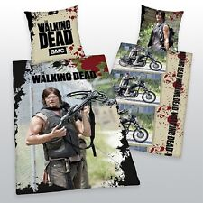 THE WALKING DEAD BETTWÄSCHE DARYL DIXON EXKLUSIVMODELL 100% BW 135x200 CM NEU