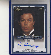 "2014 POP CENTURY TIM CURRY #1/5 BLUE ""ROCKY HORROR PICTURE SHOW"" AUTOGRAPH AUTO"