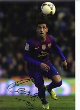 Alexis Sanchez signed 12x8 Photo-FC Barcelona Chile-Barca AFTAL cert. de autenticidad (1411)