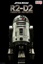 Star Wars R2-D2 Unpainted Prototype 1:6 Sideshow Collectibles 2016 Con Exclusive