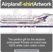 T-shirt for Delta Air Lines Boeing 727 Fans