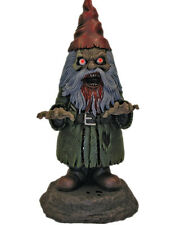 "17"" Deluxe Light Up Zombie Garden Gnome Halloween Decoration Yard Ornament"