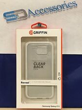 BRAND NEW GRIFFIN REVEAL CLEAR CASE FOR SAMSUNG GALAXY S6 WHITE