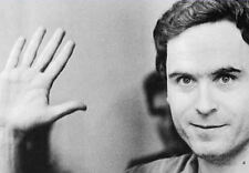 Framed Print - The Chilling Face of Ted Bundy Serial Killer (Picture Poster Art)